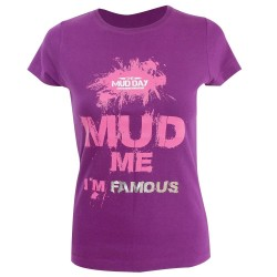T-shirt MUD ME Violet